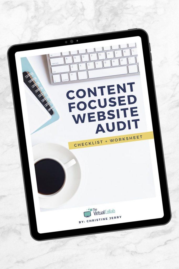 DIY Website Audit PDF
